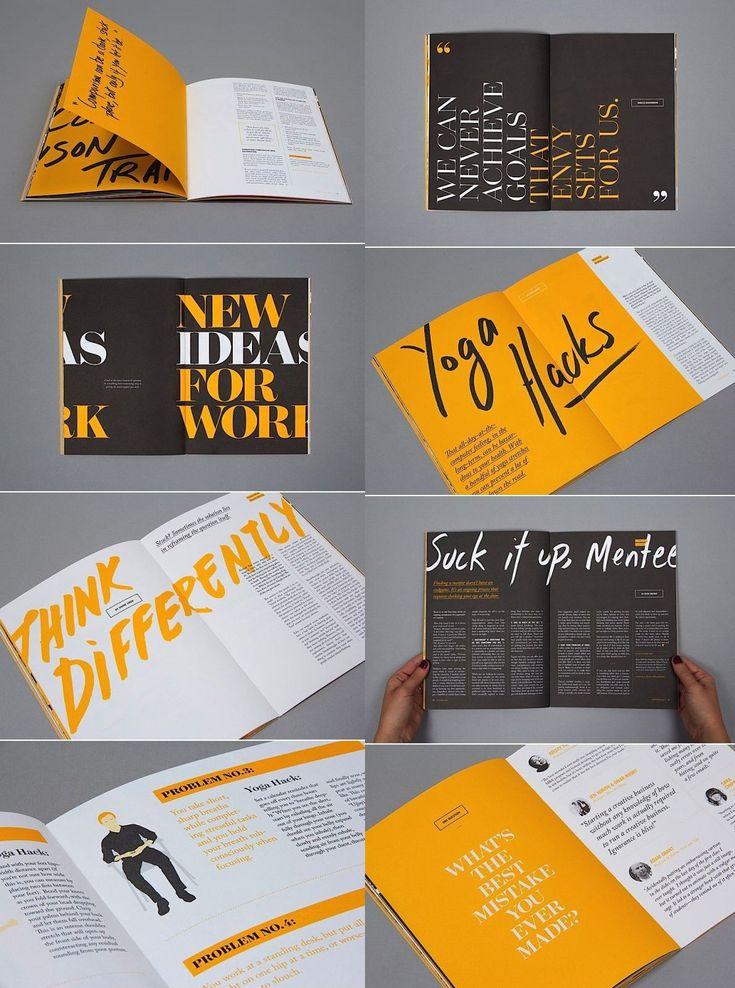 19Typography_4 Book design layout, Ebook design, Booklet