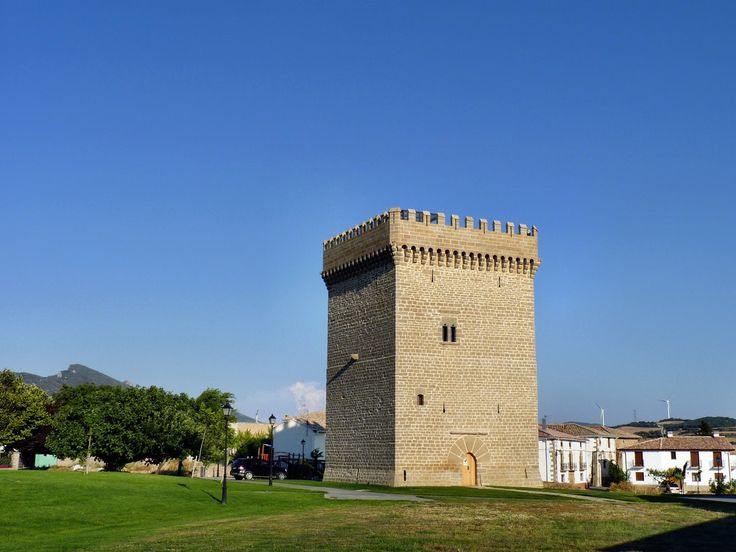 Torre Palaciana de Olcoz, Navarra, Camino Aragonés