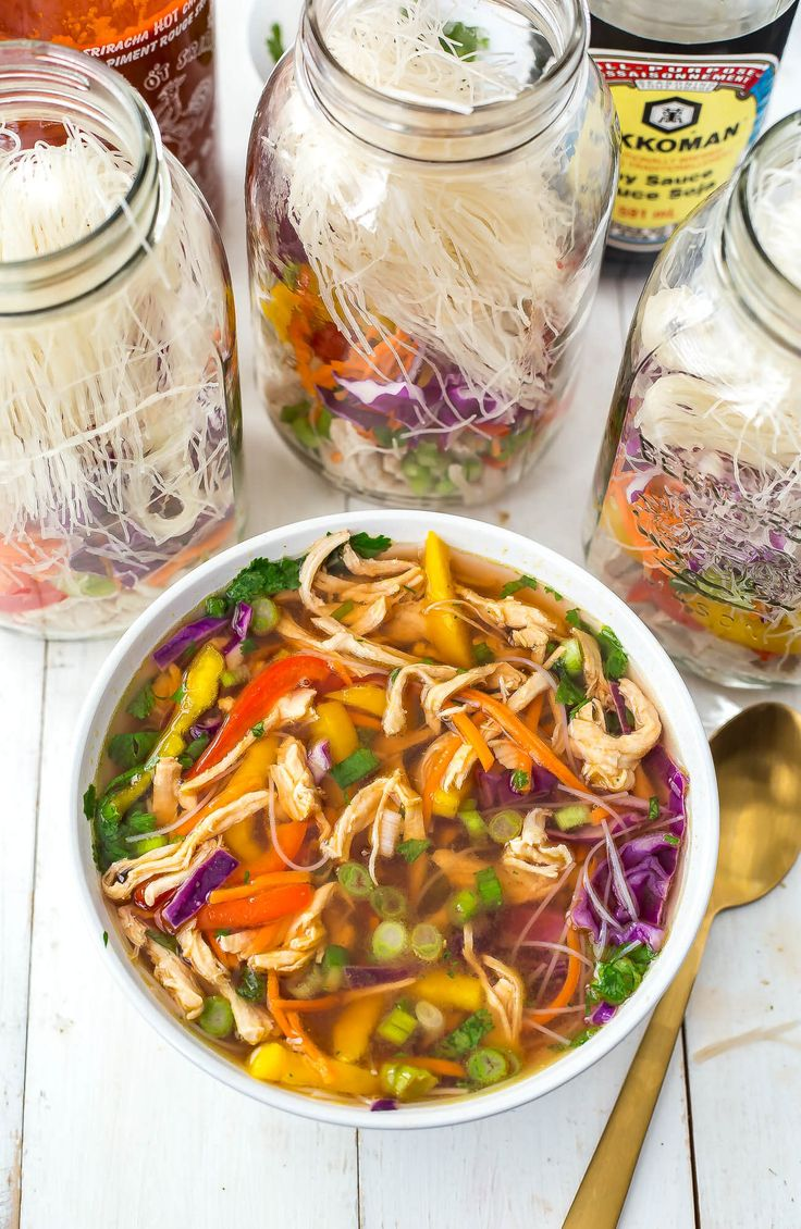 Mason Jar Instant Noodle Soup Cups The Girl on Bloor