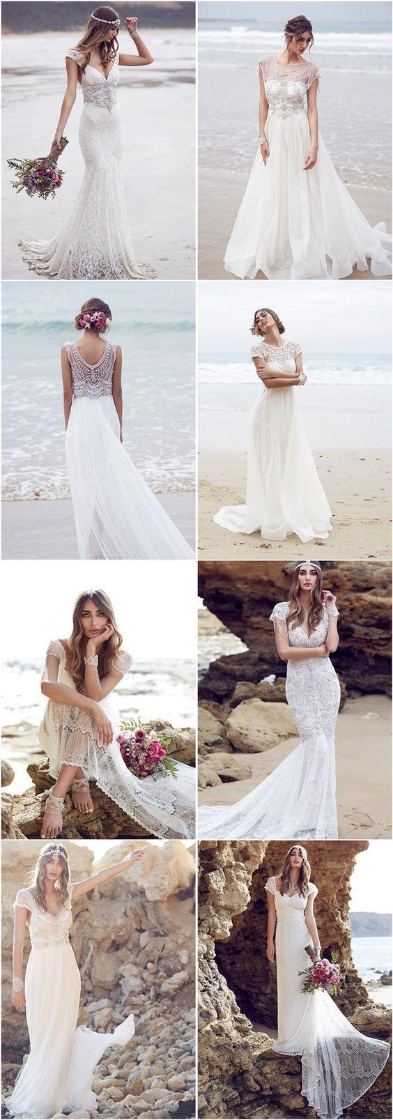 Anna Campbell Wedding Dresses 2016: