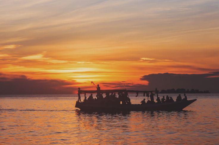 Sunset at Tanjung Gelam, karimun Jawa