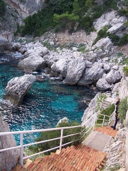 Isle of Capri in Italy