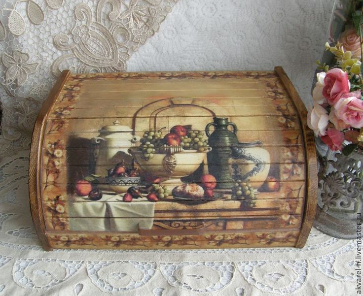 "The kitchen is handmade.  Fair Masters - handmade.  Buy Breadbasket ""house full cup.""  Handmade.  Bread, Bread Wood"