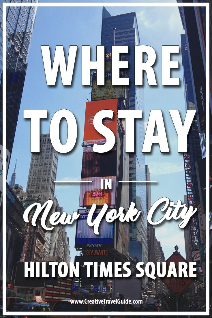 Where to stay in New York City? We review one of our favourite hotels in Times Square, New York City: Hilton Times Square. Complete with our pros and cons.