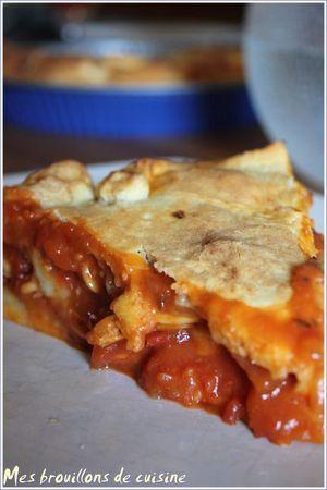 Tielle Sétoise, spécialité culinaire de Sète avec poulpes, calmars, tomates, safran.....