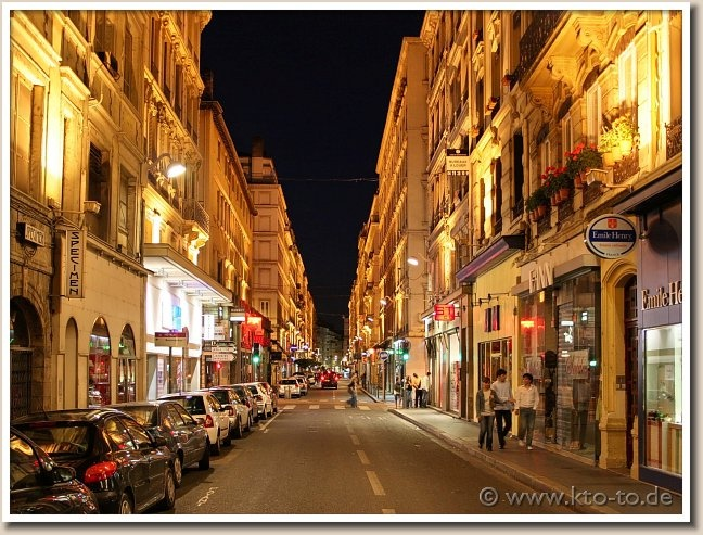 Lyon - the most livable French city.  Andreé & Leonora first.
