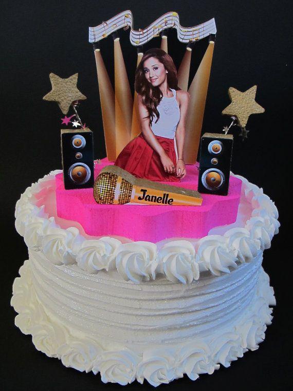 Ariana Grande Cake Topper 3d Birthday By Designsbykeiko