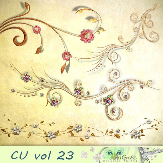 Digital  Elements for  Commercial Use CU vol 23 by ArtGraficStudio
