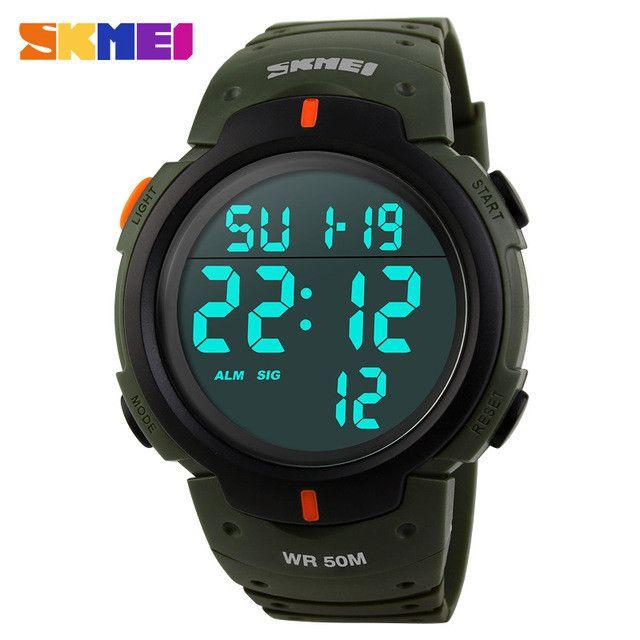 Oversized Casual Men Digital LED Watch