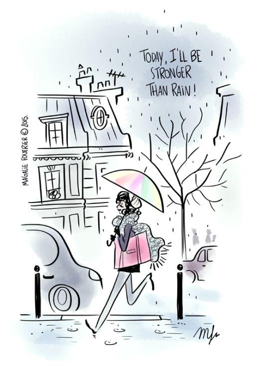 Magalie Foutrier - Hoy voy a ser más fuerte que la lluvia!!!