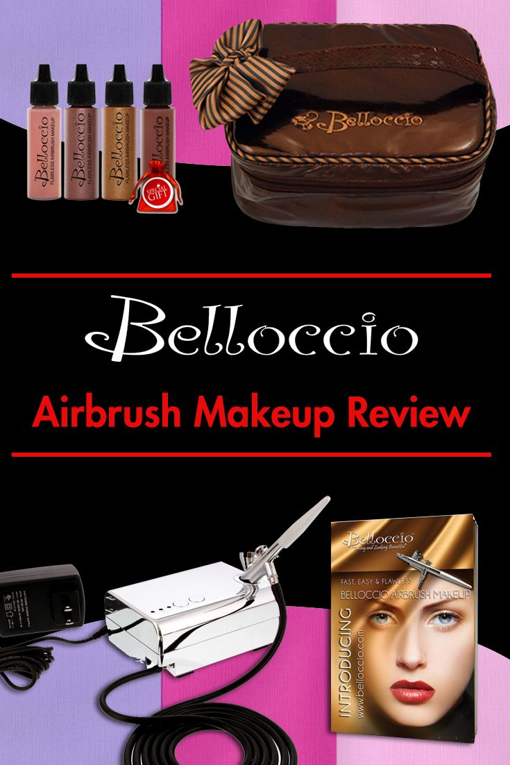 Belloccio Airbrush Makeup Review Think you should buy