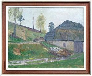 Jan Havlík - olej