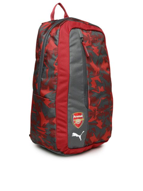 Buy Puma Unisex Red & Grey Graphic Arsenal Camo Backpack - Backpacks for Unisex | Myntra