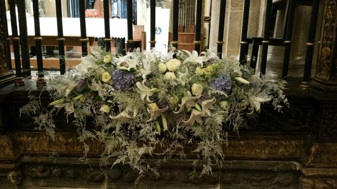 Decoracion floral para boda romantica