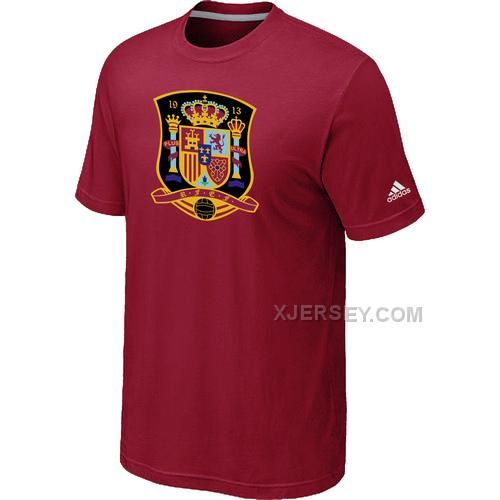 http://www.xjersey.com/adidas-national-team-spain-big-tall-men-tshirt-red.html ADIDAS NATIONAL TEAM SPAIN BIG & TALL MEN T-SHIRT RED Only $27.00 , Free Shipping!