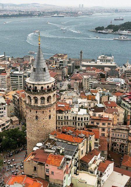 Galata - Istanbul, Turkey | by mustafaseven