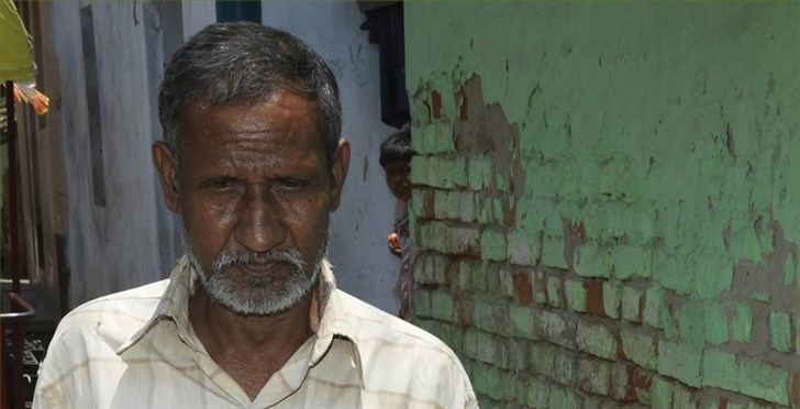 Fifty-five year old Moti has lymphatic filariasis (LF). He has been living with the swelling caused by damage to his lymphatic system for more than 20 years.