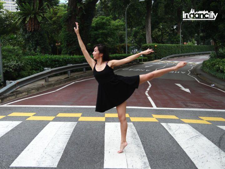 Dance, anywhere. #dance #contemporary #indancity #sgdance #modern #city #urban #zebracrossing