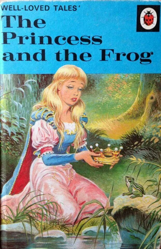 The Princess And The Frog Vintage Ladybird Books The Princess Frog Book