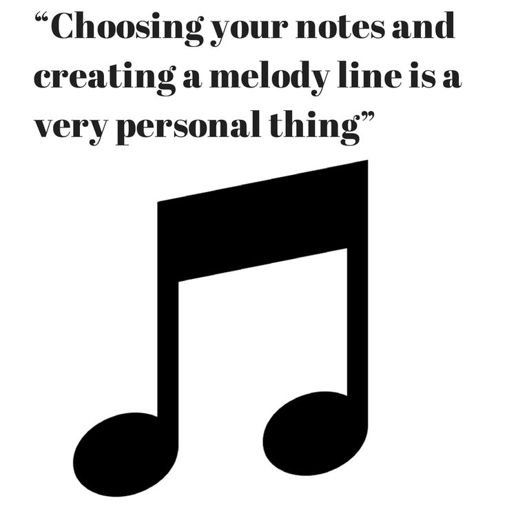 #Melody is a very important chapter in #songwriting, but