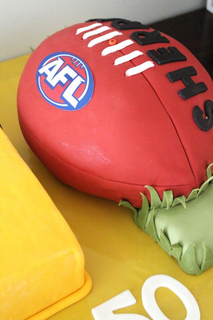 sherrin football cake - Google Search