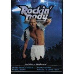 Rockin' Body: Includes 4 Workouts (Mark, Move & Groove; Disco Groove; Party Express; Shaun T's Dance Party)
