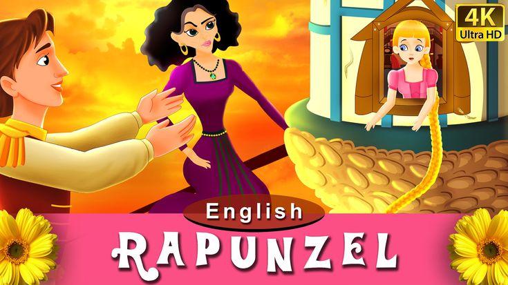 Rapunzel Story - Fairy Tales I Bedtime Stories I 4K UHD Video I My Pingu Tv