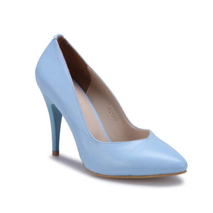 Polaris 71.307263FZ Açık Mavi Kadın Gova Ayakkabı - Kadın