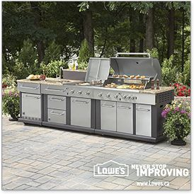 Wish you had a new patio set, BBQ or lawn mower? Well, you could win $1,000 or $25 daily to make your backyard better. Enter Lowe's Outdoor Oasis Sweepstakes now!