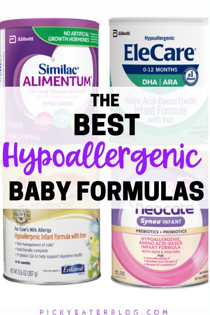 Looking For The Best Hypoallergenic Baby Formula Look No Further We Have A List Of All The Best Hypoallerge Hypoallergenic Baby Baby Formula Milk Allergy Baby