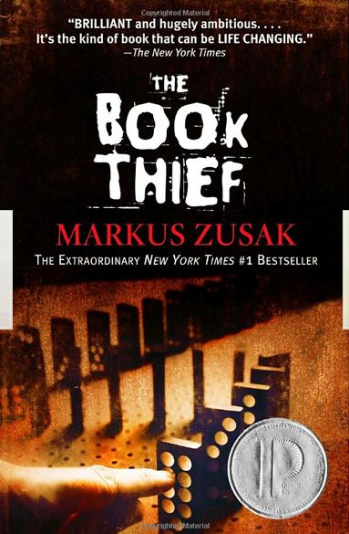 The Book Thief / by Markus Zusak I absolutely love this book! It has a most unusual narrator, DEATH. Read it!
