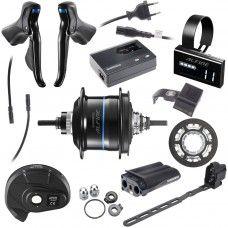 Shimano Alfine Di2 Upgrade-Kit - black