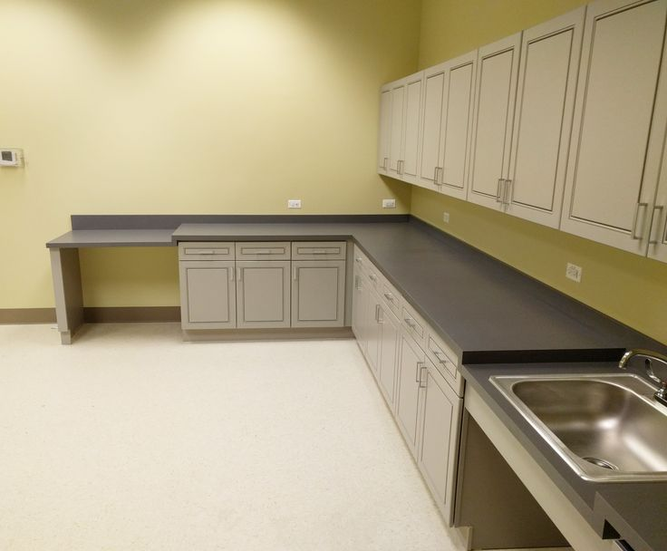 Office Countertops. Laminate Countertops For A Clinic In Mount Prospect, Il  Office N