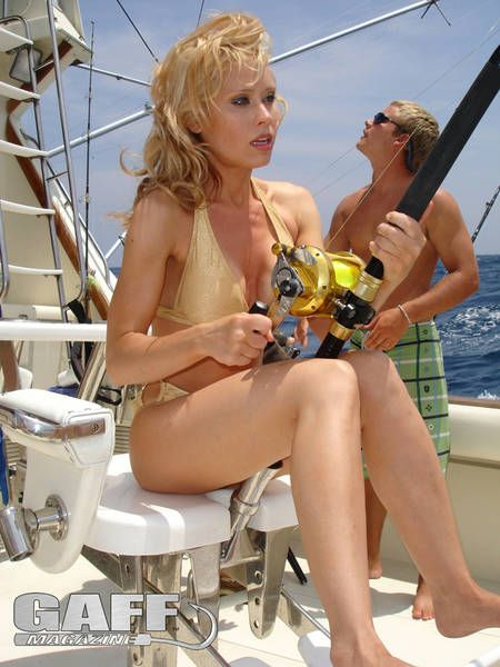 Accept. The sexy women deep sea fishing will not