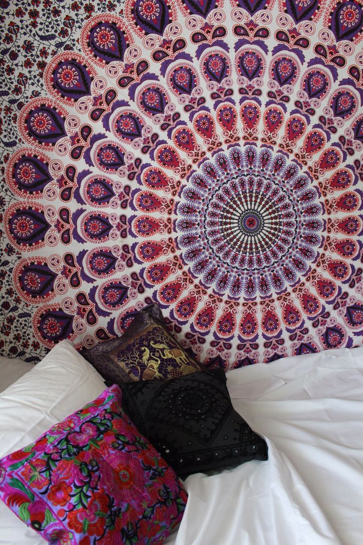 Gypsy Dreams Mandala Tapestry To Be Creative And Read More