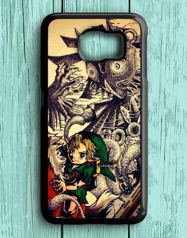 Zelda With Majora Samsung Galaxy S6 Case