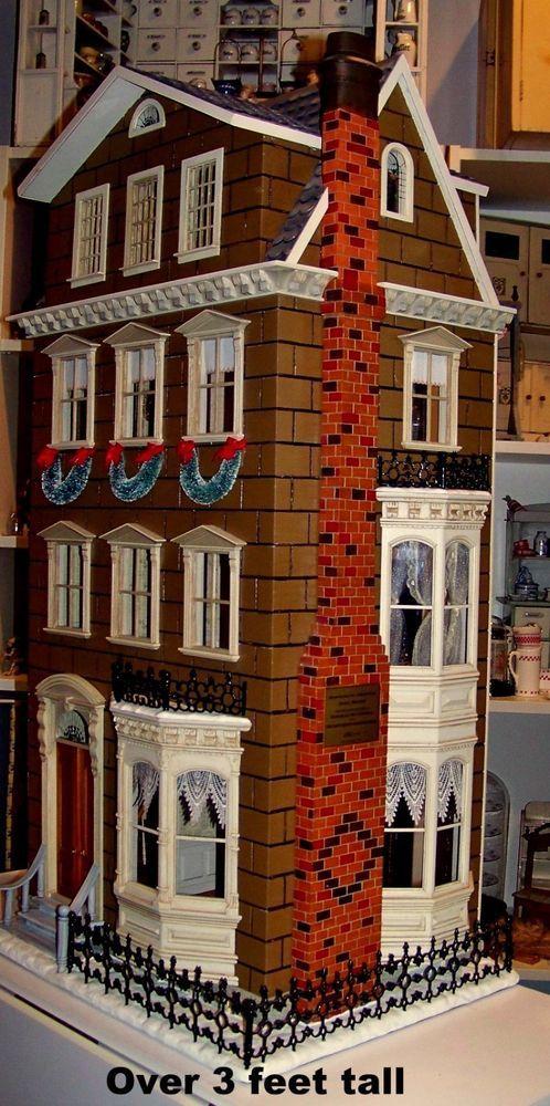 1747 best dollhouses artistic unique images on pinterest for Unique doll houses
