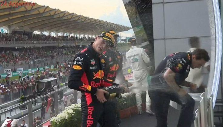 Verstappen festejó su cumpleaños con una victoria en el Gran Premio de Malasia