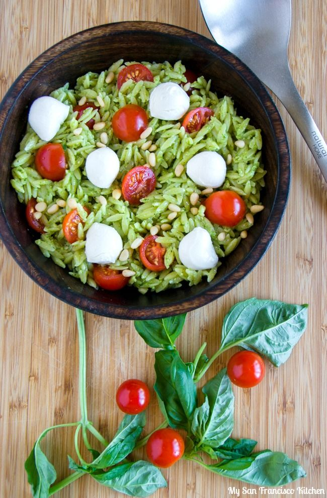 Caprese Orzo Pasta Salad. Italian cooking doesn't have to be complicated! Try this fresh summer pasta salad made with Stella® fresh mozzarella