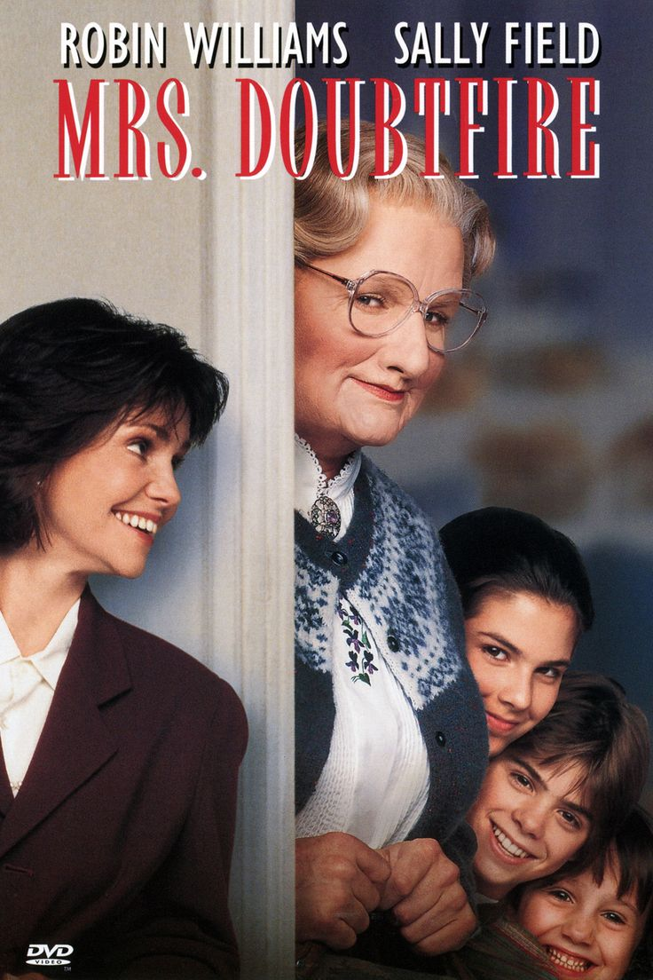Hey I think I saw ms doubtfire in a video at a workshop the other day....lol! Hahaha (for erica)