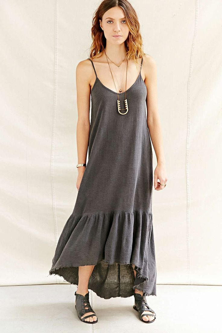 drapey woven maxi dress from @urbanoutfitters: