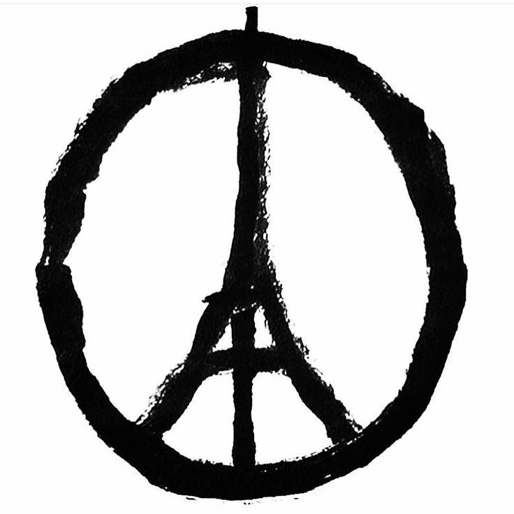 """""""...naturalmente anchio vorrei un mondo dove tutti amano tutti e dove nessuno è nemico di nessuno. Ma il nemico cè. Lo abbiamo qui in casa nostra. E non ha nessuna intenzione di dialogare"""". (O.Fallaci) #prayforparis#peaceandlove"""