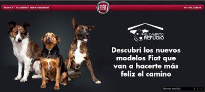 """El pasado 20 de julio se celebró en Argentina, """"El día del amigo"""" y Fiat decidió festejarlo con una maravillosa iniciativa: promover la adopción de sus nuevos """"modelos perrunos"""". Y es que """"Nada te hace más feliz el camino, que recorrerlo con tu mejor amigo""""."""