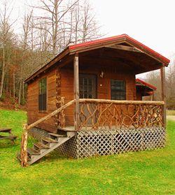 Camping Cabins at Adventure Village. $87/Night. Brevard, NC - Hiking, playground, pool, fishing