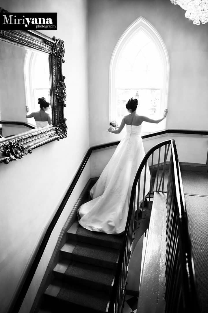 budget wedding photography west midlands%0A Nadine at Warwick house  Beautiful Staire case