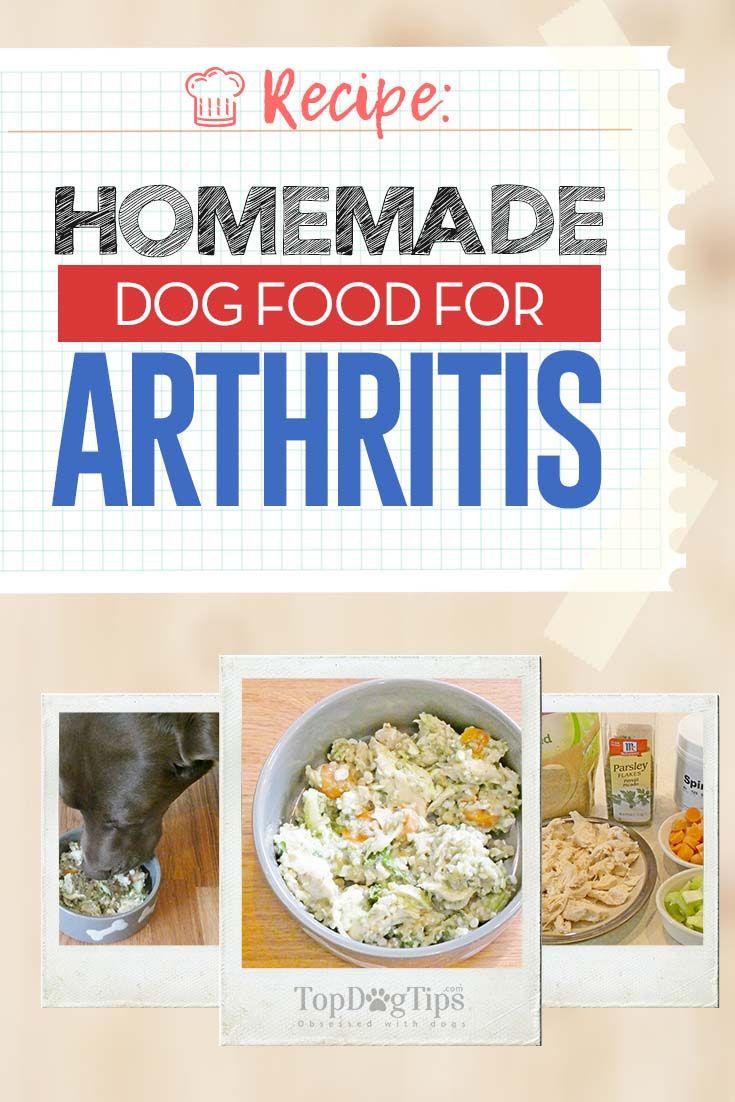 Recipe Homemade Dog Food For Arthritis Dog Food Recipes Homemade Dog Food Vet Approved Make Dog Food
