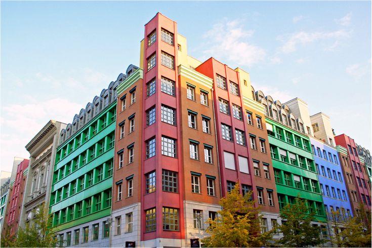 Aldo Rossi - edificio residenziale, 1992-97 Berlino