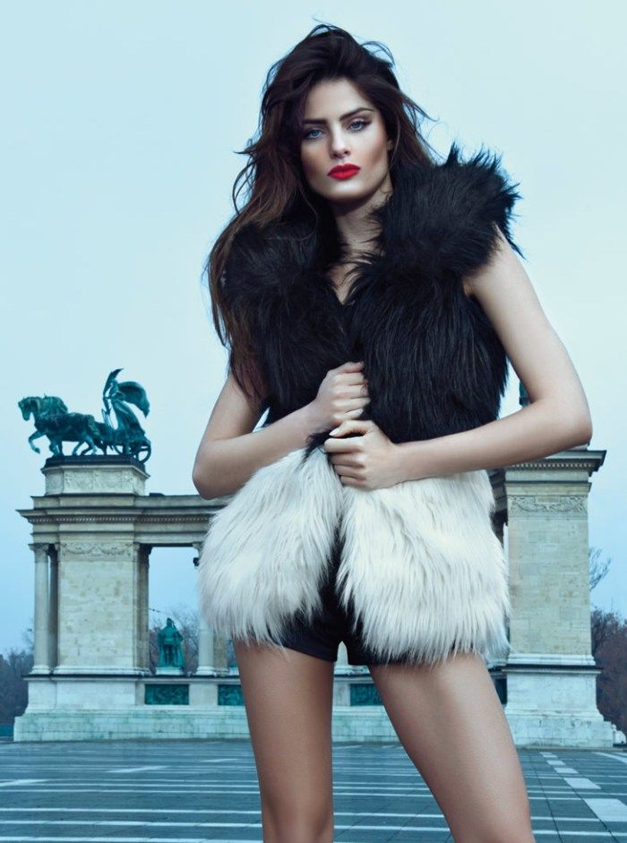 Isabeli Fontana Rocks Glamorous Style for Morena Rosa Fall 2013 Campaign