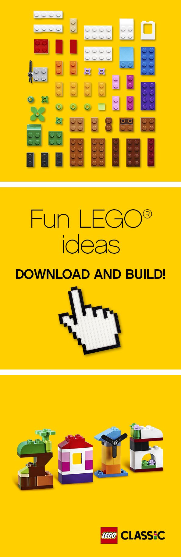 Celebrate the New Year with this simple and festive LEGO build. Your family will love this festive gift or activity.