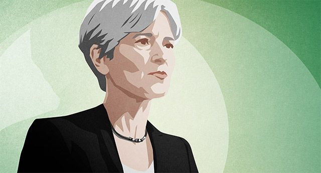 Stein, the Green Party's presumptive presidential nominee, discusses Sanders, the ''Green New Deal'' and the politics of fear.